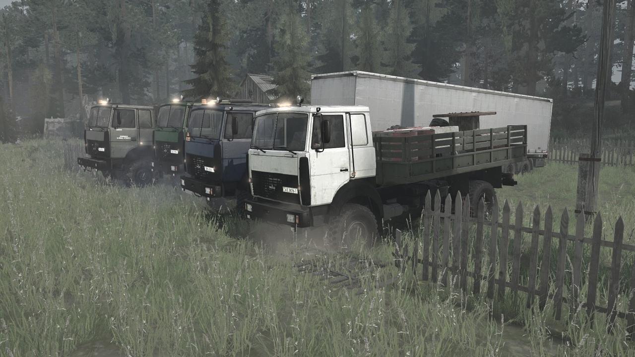Пак МАЗов (6317,6316,6425)