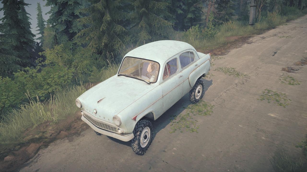 МЗМА «Москвич» - 410Н