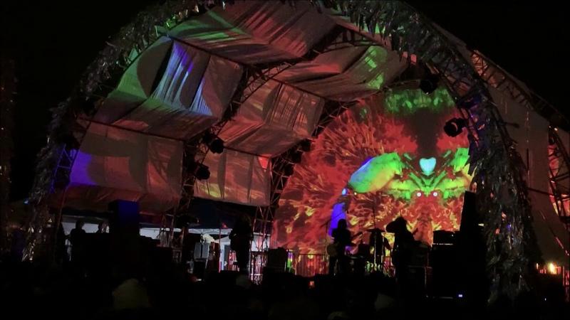 Uncle Acid Live at Desert Daze Block Stage 10 12 2018