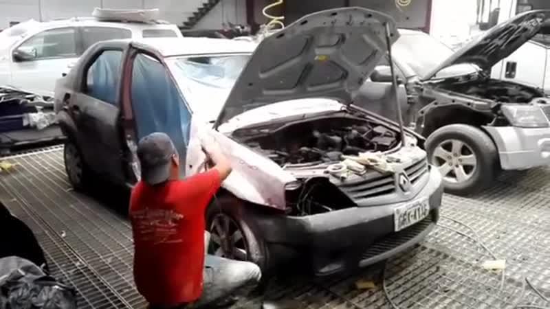 Отреставрировал разбитое авто jnhtcnfdhbhjdfk hfp bnjt fdnj