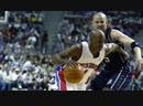 NBA playoffs 2002 -2003. Nets - Pistons. g1