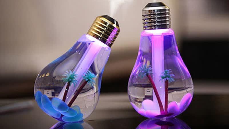 Увлажнитель воздуха USB Lucky Bulb Humidifier на Opt-stuff.ru