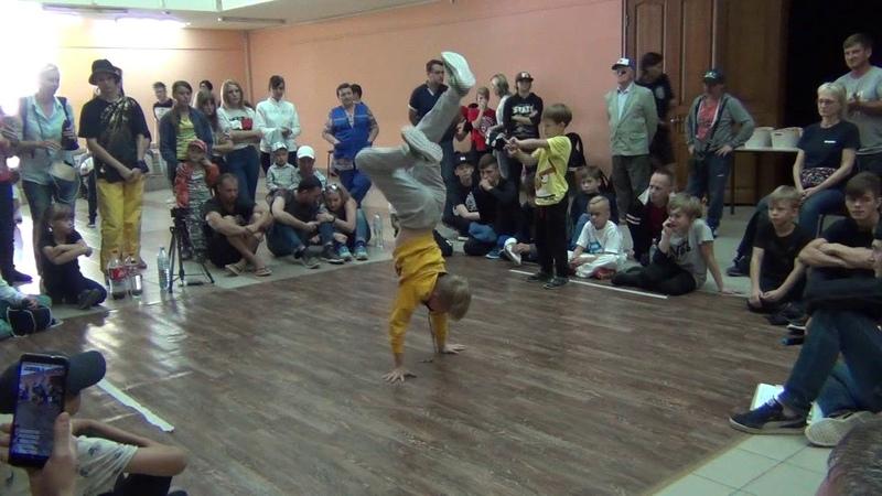 07 Ярый Омутнинск и Лентяй Саратов, 6 9 лет, финал за 3 место, Open kids battle, Хвалынск 23 09 201