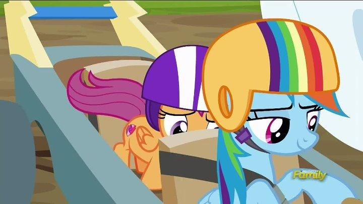 My Little Pony FiM | Сезон 6, серия 14 — The Cart Before the Ponies [HD] [русские субтитры]
