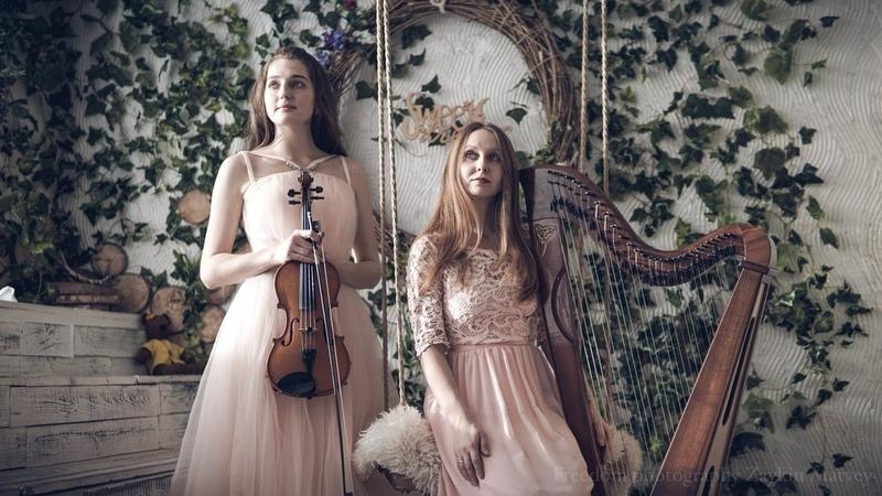 Ed Sheeran Perfect harp and violin cover