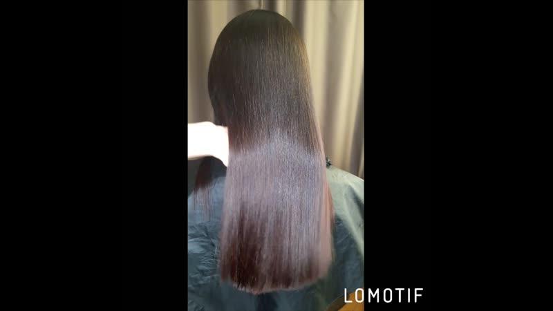 Кератиновое выпрямление. Волосы после мытья, высушены феном без укладки. 😍🔥