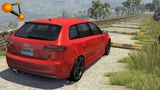 BeamNG.drive - Cars at High Speed by Speed Bumps #2