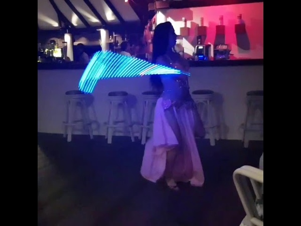 Alisia - Bellydance show in Maldives