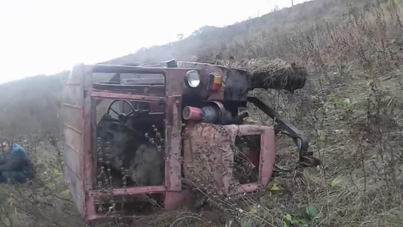 Ужас не пропути как мордва убили трактор(жесть)