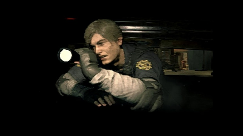 Computer News 2019 01 14 03 Resident Evil 2 Remake can look like a PS1 game on its absolute lowest s