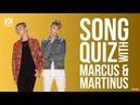 Marcus Martinus Song Quiz Challenge bist du besser als M M