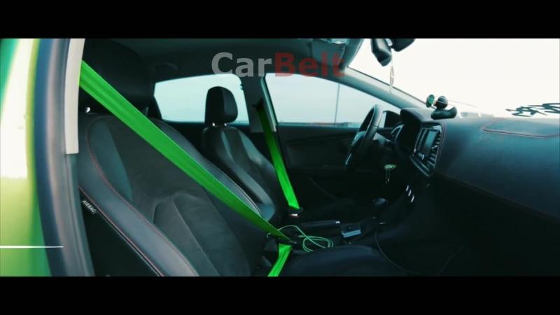 Цветные Ремни Безопасности CarBelt