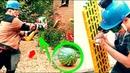 Разрушители VS Конструктор - Эксперименты Молот и арбуз, Орбиз и Щит, Сотни Пузырей - Фанкластик