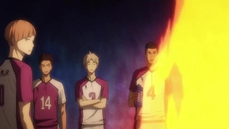[Моменты] Смешные моменты из аниме Волейбол _ Haikyuu! 1