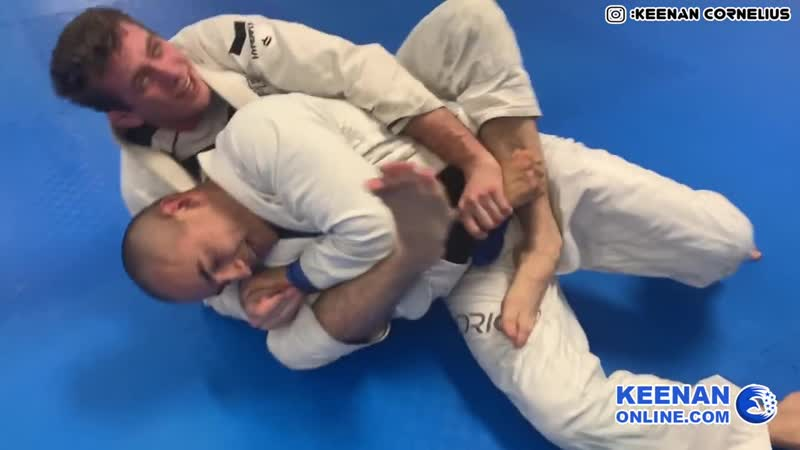 Keenan Cornelius narrates his ideas live during 40 minutes of sparring bjf_rolling