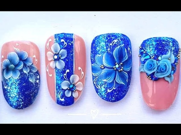 The Best Nail Art Designs Tutorial✔👁🍁 | Design in Beauty-Nail Art