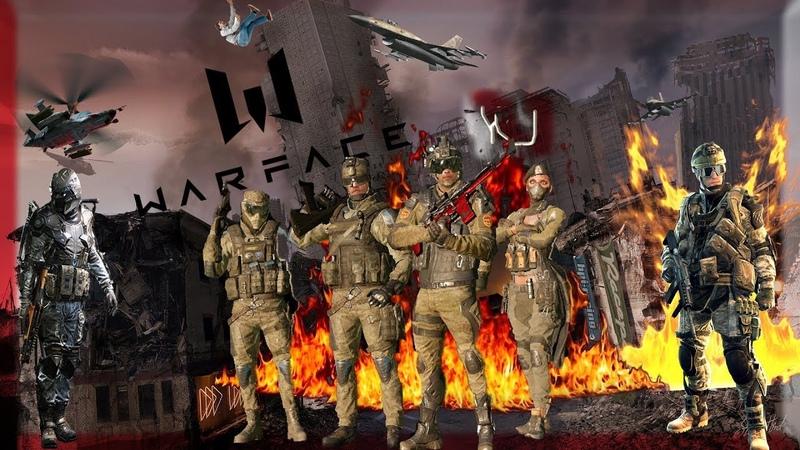 Warface играю с пушкой -FN SCAR‐H Серия «Убийца зомби»