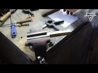 How to make damascus Dagger.mp4
