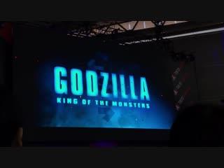 ゴジラ キングオブモンスターズ最新映像 - フルサイズは来週公開 - - 東京コミコン tokyocomiccon - ゴジラ GODZILLA
