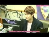 ENGSUB (140210) Kiss The Radio Naeun Phone Call Cut