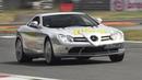 LOUD Mercedes SLR McLaren On Track - Accelerations Lovely V8 Sound!