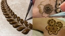 Learn how to make different mehndi design pattern for beginners | practice