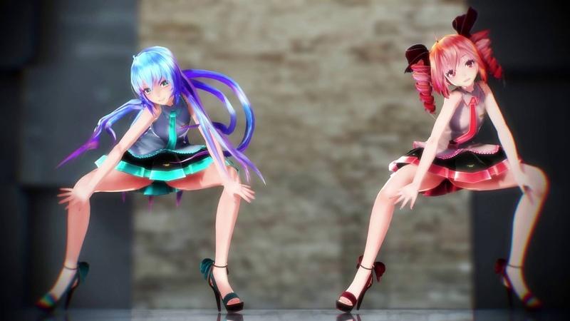 【MMD】Shake It Off【Tda式改変ミク、テト】
