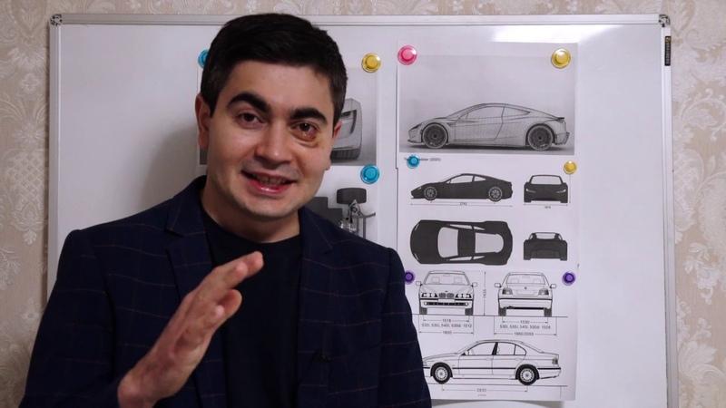Самодельная Тесла Роудстер 2020. Первые чертежи и расчеты.