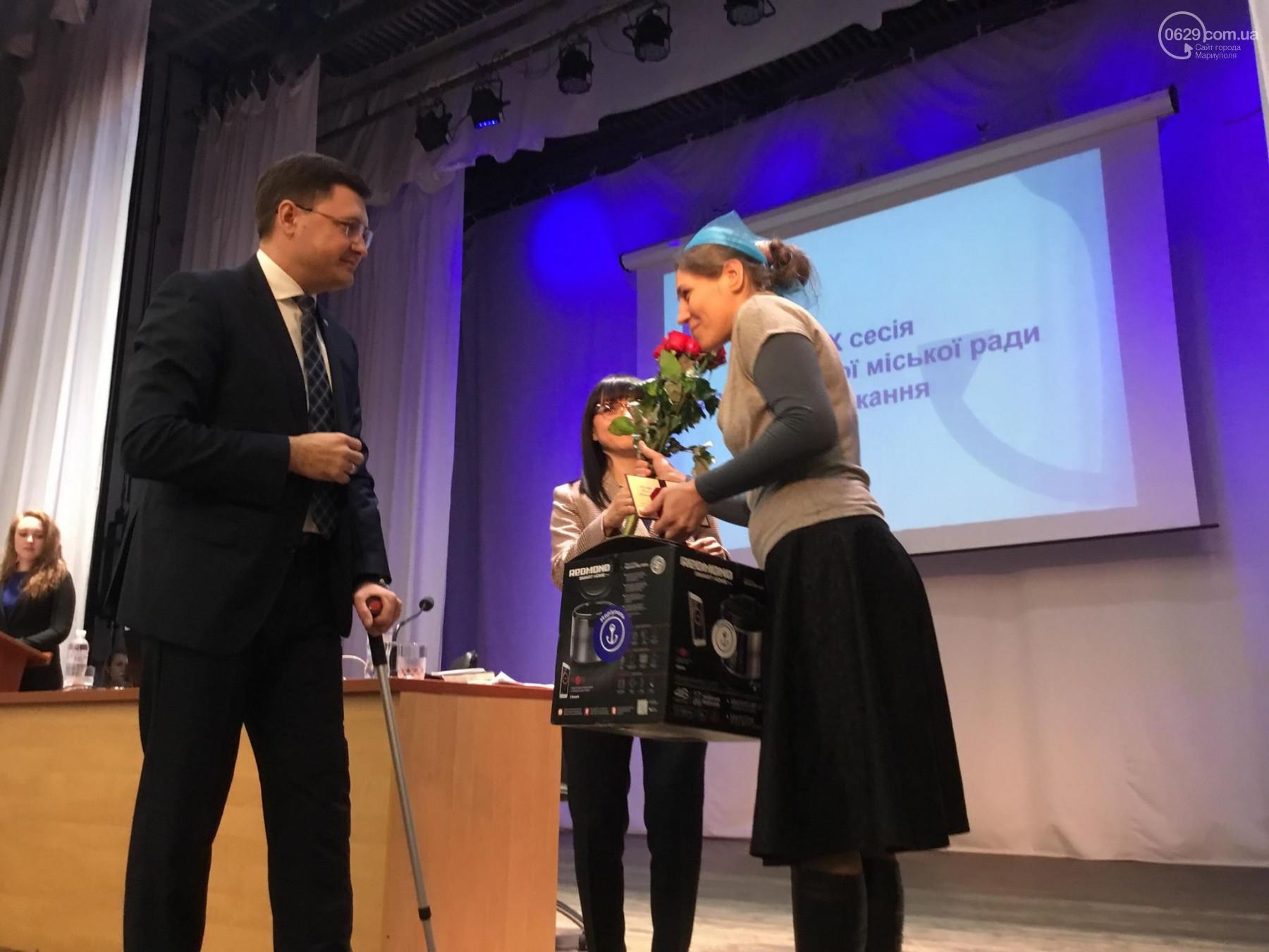 В Мариуполе выдали награды матерям героиням (фото)