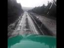 ремонт федеральной трассы и дождик льет как из ведра