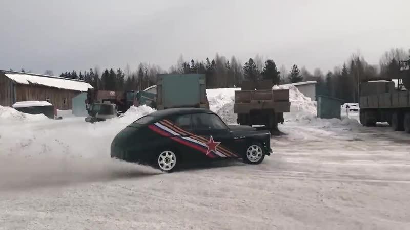 КАСТОМ-ГАЗ-М-20 «ПОБЕДА» 550 ЛС / DENIS - BY /