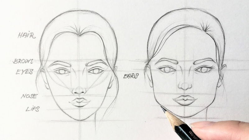 How to Draw Faces - EASY TUTORIAL