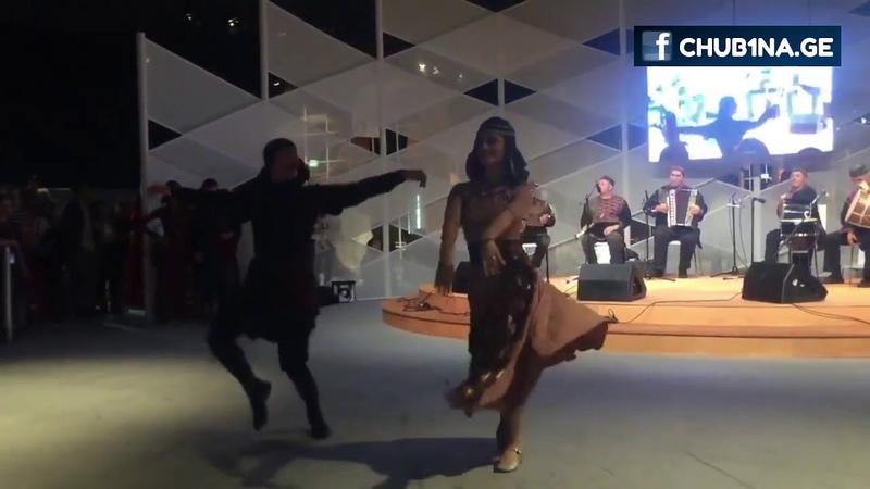 Сухишвили в Франкфурте. Танец Лазури. Почетный гость Франкфуртской книжной ярмарки (12.10.2018).