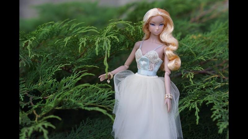 Распаковка японской куколки Misaki Dressed Doll Spun Sugar