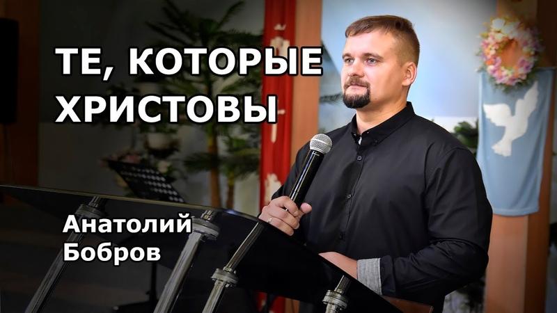 Те, которые Христовы (Анатолий Бобров)
