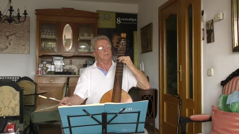 J.S.Bach Suite 1 Sarabanda