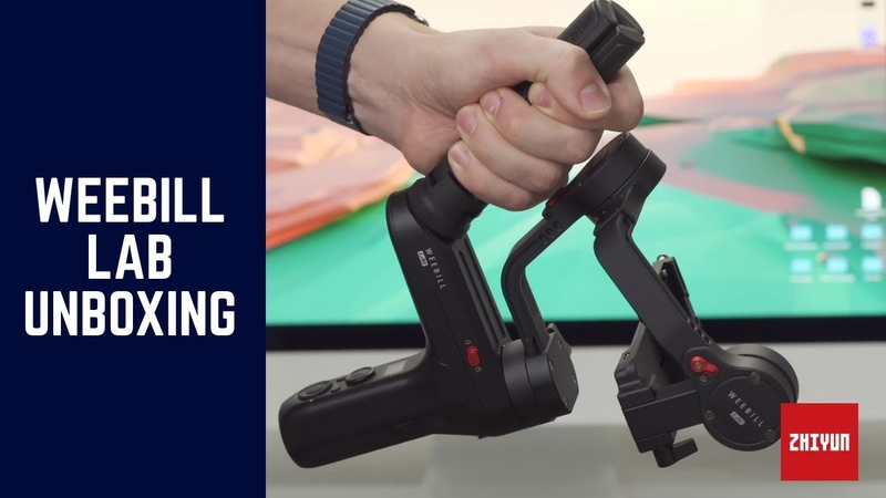 Unboxing The Zhiyun Weebill LAB Gimbal Standard Package By Infosmercial