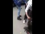 Girls fight on street hillorious ___ Must watch.mp4