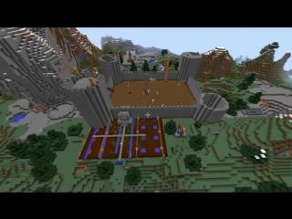 [AttackingTucans] 100 People Build a Castle - Minecraft: Survival