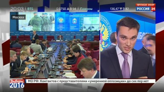 Новости на Россия 24 • В ЦФО закрылись избирательные участки