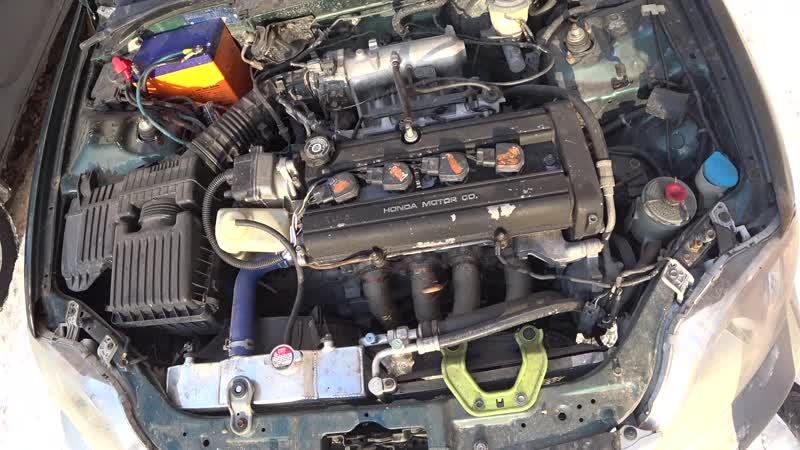 B20b s40 тест двигателя выхлопа