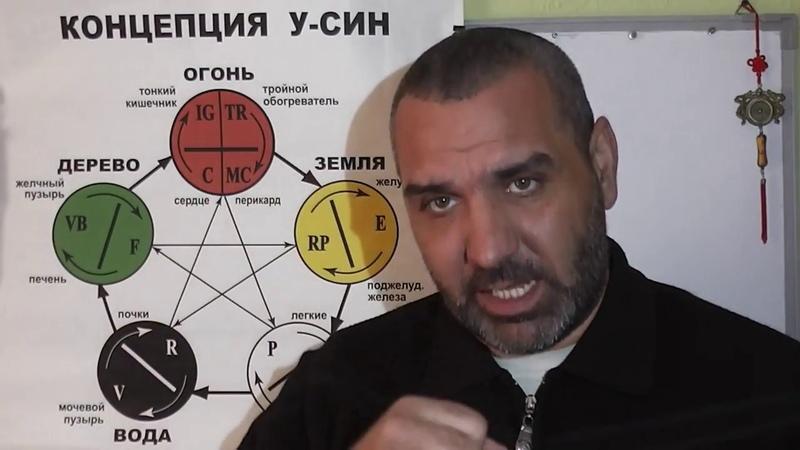 Теория У СИН Очищение организма Видео 5