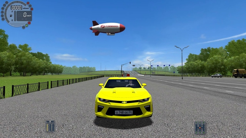 City Car Driving - Chevrolet Camaro ZL1 Acceleration 0-100