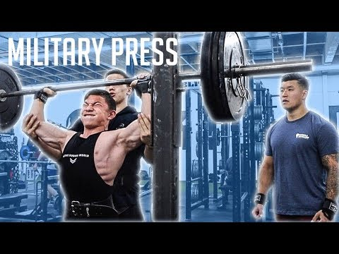 HIGH VOLUME SHOULDER WORKOUT || TRISTYN LEE Trains Shoulders W/ BART KWAN