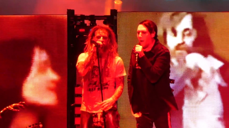 Rob Zombie Marilyn Manson – Helter Skelter (Twins of Evil Tour, NJ 2018-07-24)