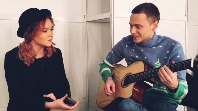 Сергей Мушта и Рушана Валиева - Репетиция перед поединками Голос 7