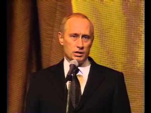 Владимир Путин на праздновании 60 лет с момента прекращения блокады Ленинграда (27.01.2004)