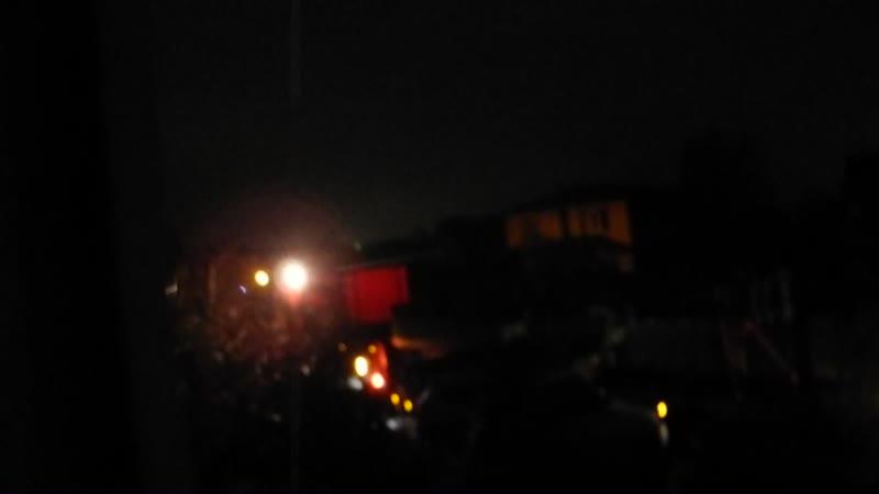 Остафьево Ночь Спецтранспорт под окнами