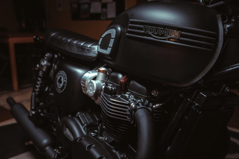 Мотоцикл Triumph Bonneville T120 Ace 2019