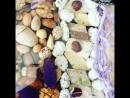 Ореховый бокс с орхидеей Ванда